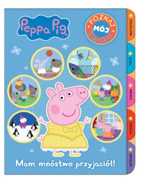 Świnka Peppa Poznaj mój świat 2 Mam mnóstwo przyjaciół!