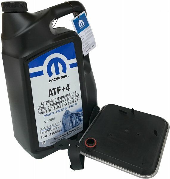 ORYGINALNY olej MOPAR ATF+4 5l oraz filtr oleju automatycznej skrzyni biegów Chrysler 300M