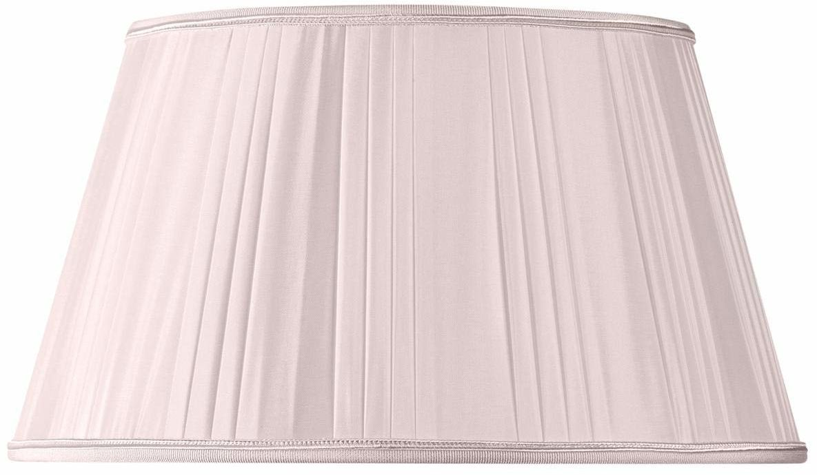 Blady różowy półempire składany klosz średnica 20 x 14 x 11,5 cm