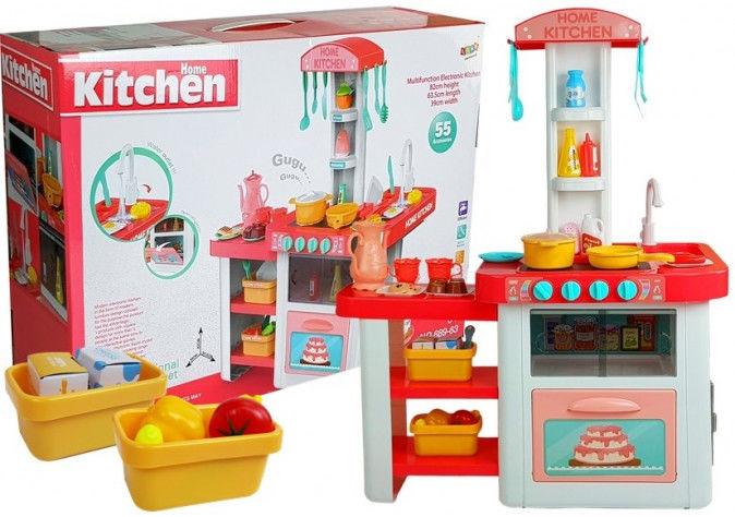 Kuchnia dla dzieci Naczynia, Artykuły Spożywcze Otwierane Drzwiczki Woda