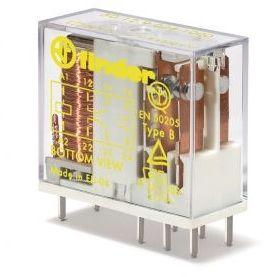 Przekaźnik bezpieczeństwa 2CO 8A 5V DC, styk AgNi+Au 50-12-9-005-5000