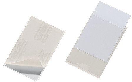 Durable POCKETFIX samoprzylepna kieszonka na wizytówki 90x57 mm