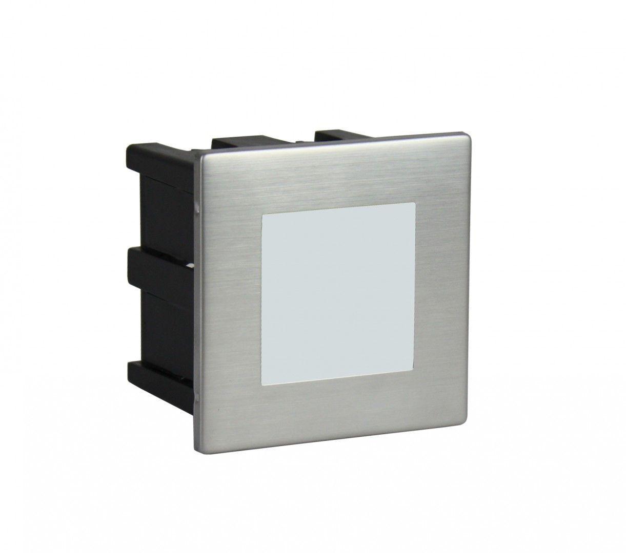 SU-MA Mur Led Inox F 04 oprawa do wbudowania LED 1,5W IP65