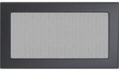 Kratka kominkowa grafitowa 17 x 30 cm