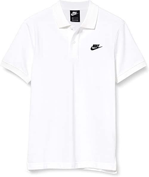 Nike Męska koszulka polo Sportswear biały biały i czarny S