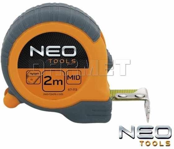 Miara zwijana z magnetyczną końcówką, długość 2M - NEO TOOLS (67-112)