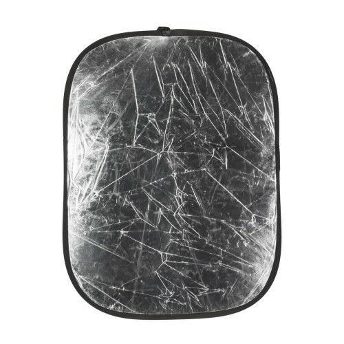Quadralite Blenda srebrno-biała 95x125cm GATUNEK II