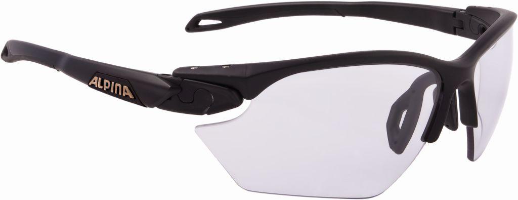 ALPINA TWIST FIVE HR S VL+ okulary rowerowe / sportowe kolor BLACK MATT szkło BLACK S1-S3 A8597131,4003692272188
