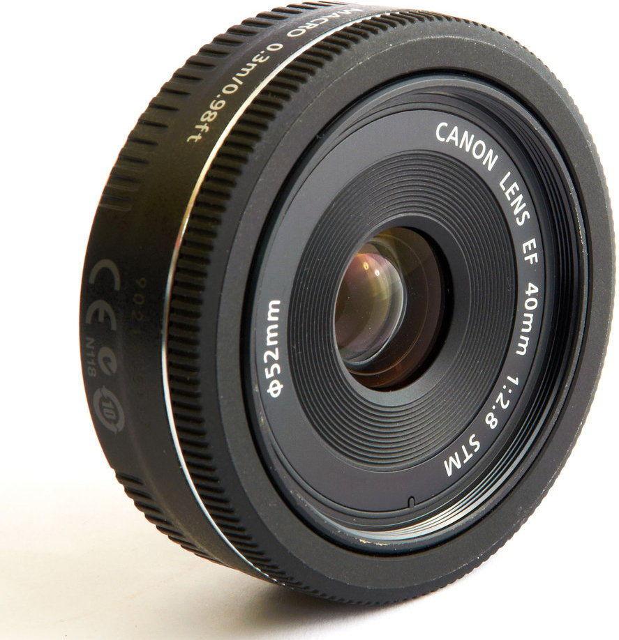 Canon EF 40mm f/2.8 STM Czarny