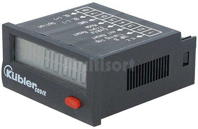 Licznik elektroniczny czasu pracy KUBLER CODIX z wyświetlaczem LCD