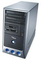 Fujitsu Scaleo Pix komputer stacjonarny (Intel Pentium 4 3,4 GHz, 1 GB RAM, 250 GB HDD, DVD+-RW DL, Nvidia GF 7800 GT, XP Home)