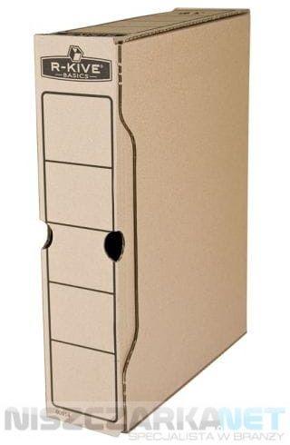 Pudełko na akta 80mm Fellowes - opk 10szt - R-kive Basic 0091402
