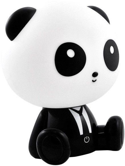 Lampka nocna PANDA LED 2,5W czarno-biała 307651 POLUX/SANICO