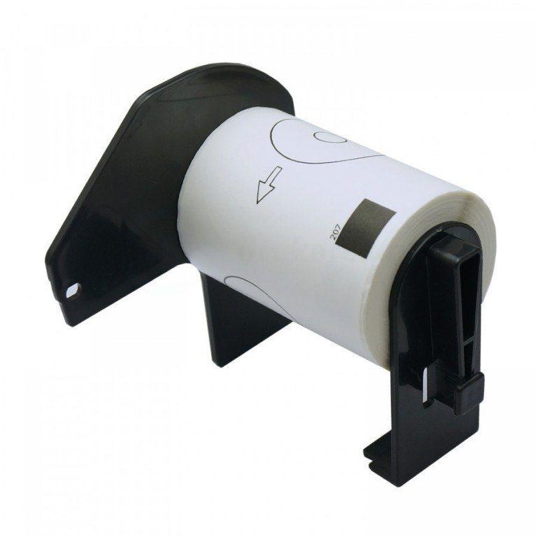 Etykiety Brother DK-11207 folia okrągła fi 58mm do drukarki QL - zamiennik OSZCZĘDZAJ DO 80% - ZADZWOŃ! 730811399
