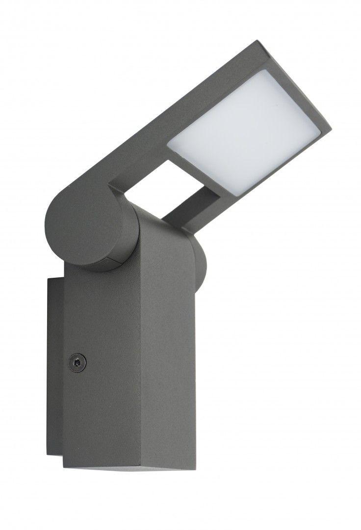 SU-MA Neo 11701 DG lampa ścienna ciemny popiel LED 9,5W 3000K IP54