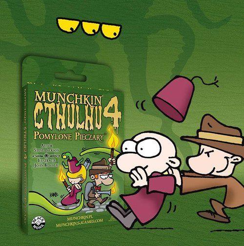 Munchkin Cthulhu 4 - Pomylone Pieczary ZAKŁADKA DO KSIĄŻEK GRATIS DO KAŻDEGO ZAMÓWIENIA