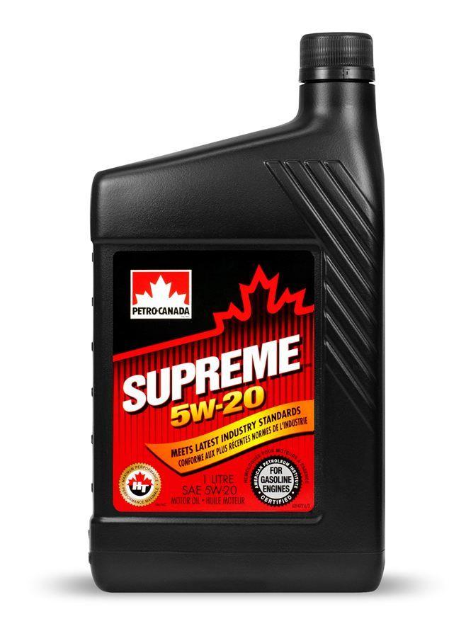 SUPREME 5W-20 1 l. olej silnikowy technologia syntetyczna
