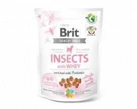Brit Care Dog Crunchy Cracker Przysmak Dla Szczeniąt Owady, Serwatka, Probiotyki 200 g