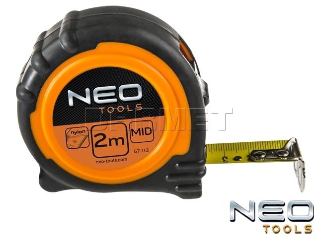 Miara zwijana z magnetyczną końcówką, długość 3M - NEO TOOLS (67-113)