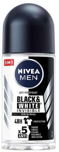 Nivea Men Black&White Invisible Original antyperspirant w kulce 50 ml