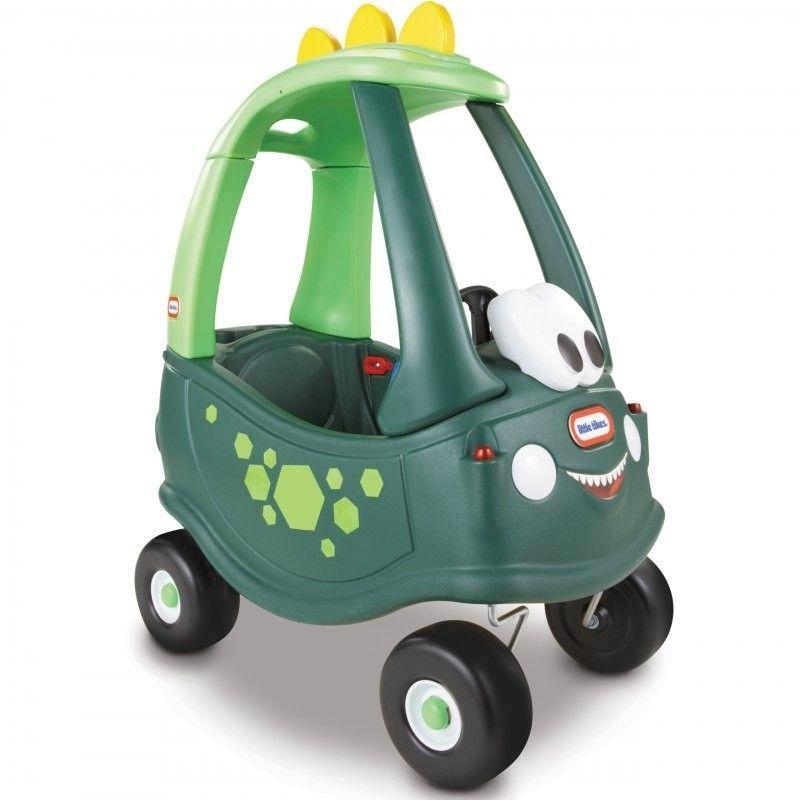 Jeździk Dino Cozy Coupe dla dzieci Little Tikes samochód