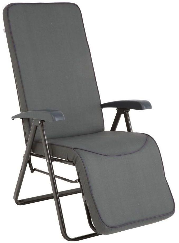 Fotel ogrodowy MODENA SQUARE PLUS PATIO antracytowy