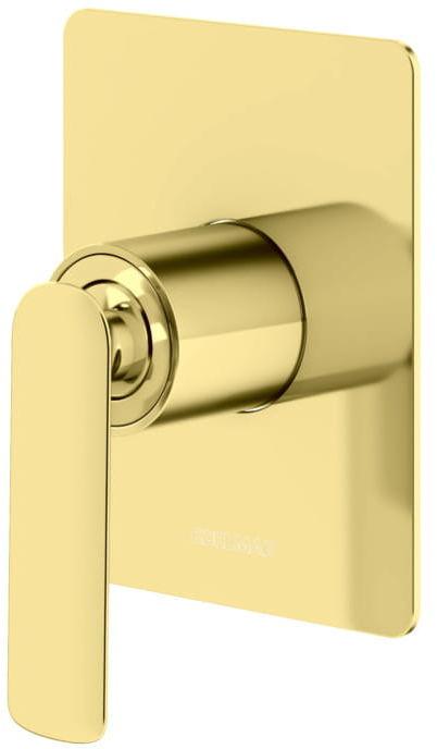 Kohlman bateria prysznicowa złota QW220EGD Experience Gold