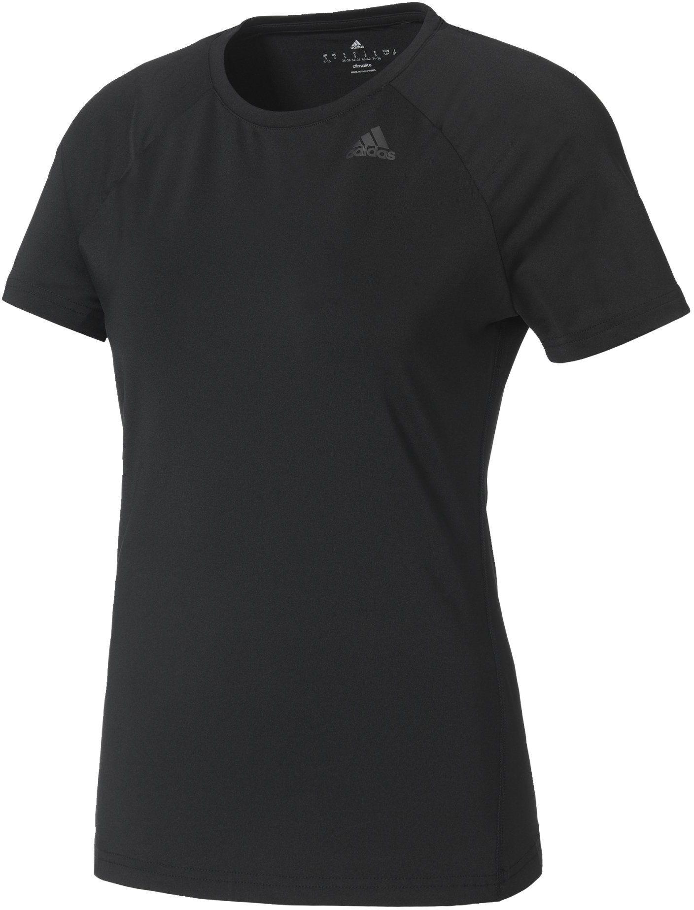 adidas damska koszulka D2m Czarny XS