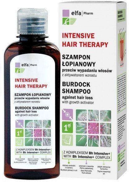 Elfa Pharm Elfa Pharm Intensive Hair Therapy Szampon łopianowy przeciw wypadaniu włosów 200ml