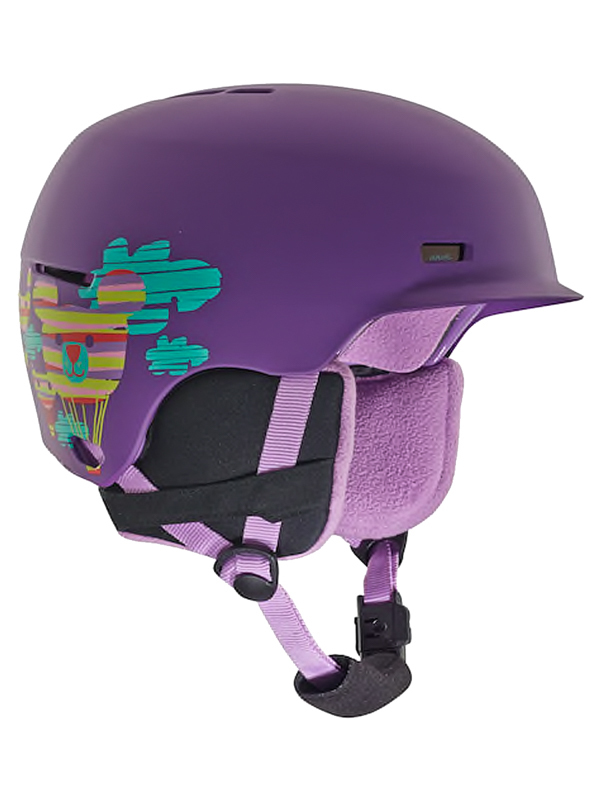 Anon FLASH BALOONZ PURPLE kask snowboardowy