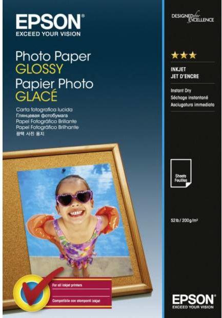 Papier EPSON Photo Paper Glossy 200 g/m  - 10x15 cm / 100 arkuszy (C13S042548)
