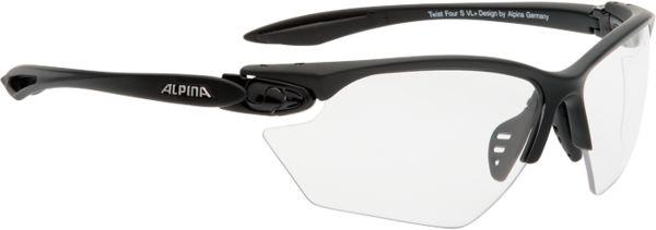 ALPINA SS17 TWIST FOUR S VL+ okulary fotochromowe A8507131, black matt szkło: CV + black S1-S3,4003692208507