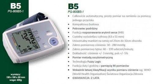 Ciśnieniomierz automatyczny naramienny B5
