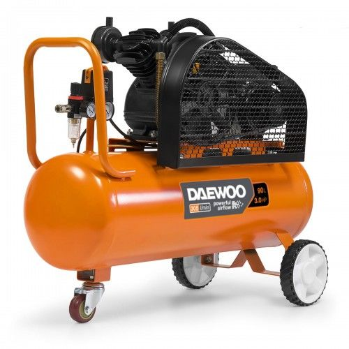 Kompresor olejowy sprężarka 90L Daewoo DAC 90B