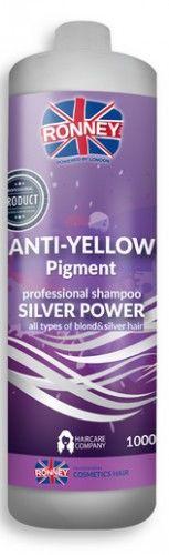 Ronney Silver Power szampon do włosów blond, rozjaśnianych 1000 ml