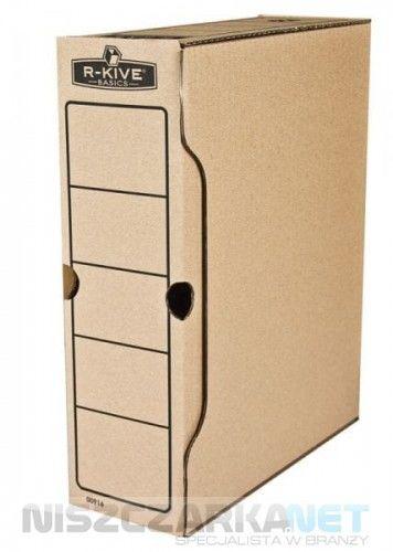 Pudełko na akta 100mm Fellowes - opk 10szt - R-Kive Basic - 0091601