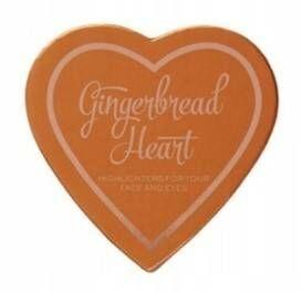 Makeup Revolution Gingerbread Heart Rozświetlacz do twarzy