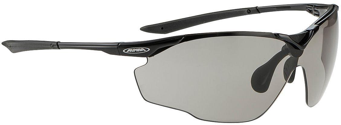 ALPINA SPLINTER VL - okulary sportowe, czarne,4003692197993