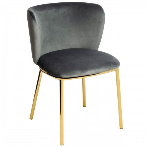 Krzesło Mantis ciemny szary