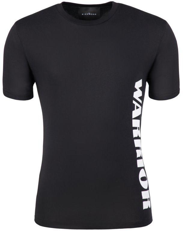 John Richmond T-Shirt RMP19223TS Czarny Regular Fit