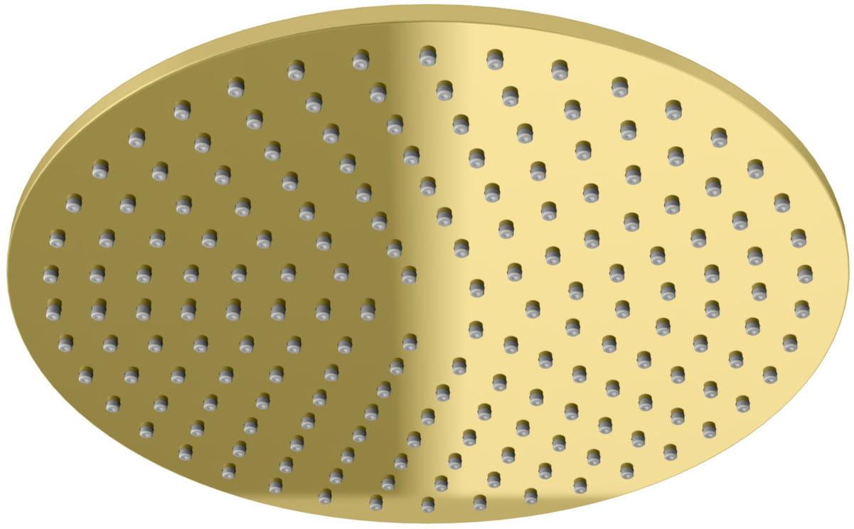 Kohlman deszczownica okrągła R25 25 cm złoty
