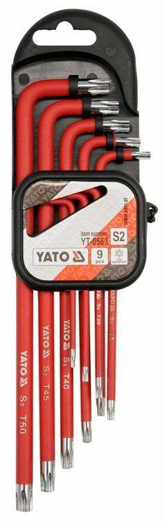 Zestaw kluczy imbusowych powlekanych torx 10 cz. Yato YT-0563 - ZYSKAJ RABAT 30 ZŁ