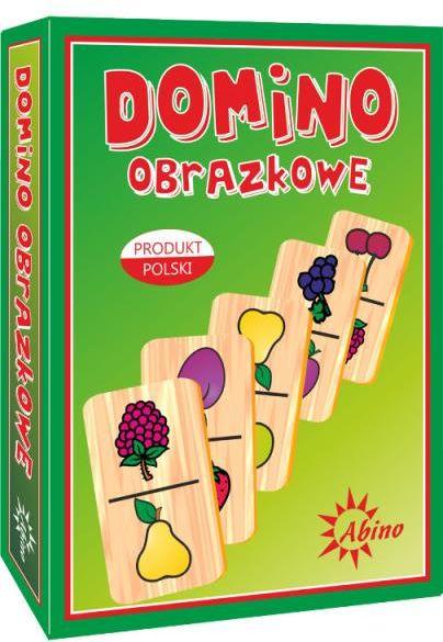 Abino drewniane domino ''Owoce'' (5907438272182)