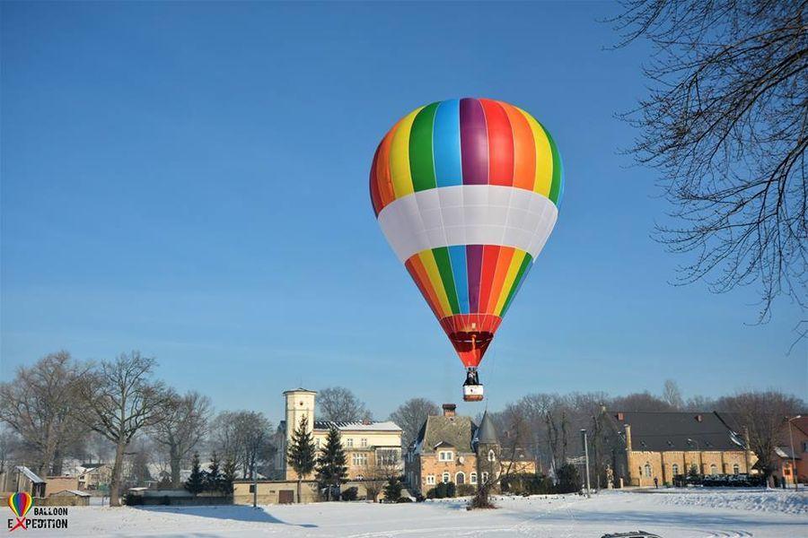 Romantyczny lot balonem dla dwojga z noclegiem - Karkonosze