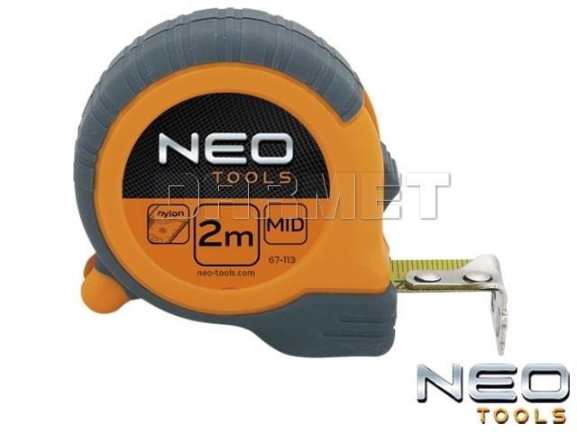 Miara zwijana z magnetyczną końcówką, długość 8M - NEO TOOLS (67-111)