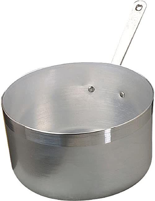 Pentole Agnelli Wysoki rondel z aluminium, 20 cm