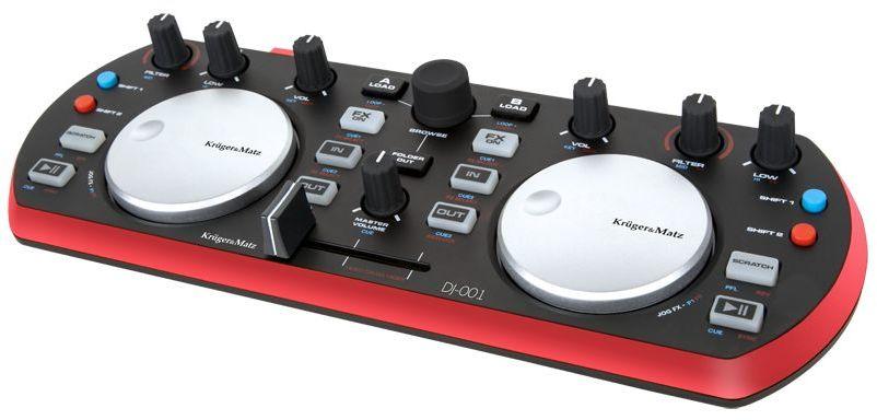 KMDJ001 Domowy kontroler DJ Kruger&Matz DJ-001