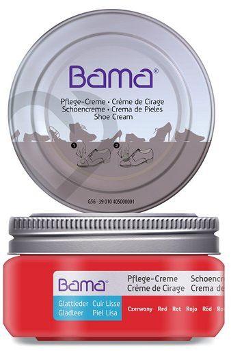 Krem do obuwia BAMA Premium 018 Czerwony 50ml w słoiczku - Czerwony