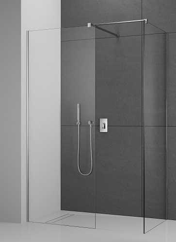 Ścianki Walk-In Radaway Modo New III 110x100 cm walk-in, szkło przejrzyste, wys.200 cm 389114-01-01/389104-01-01/389000-01
