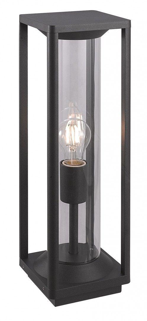 SU-MA Porto M1932-500 lampa stojąca czarna E27 IP65 50cm